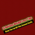 Christmas Weight Loss Tips