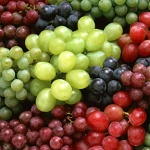 calories in grapes