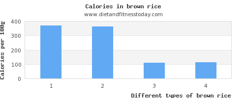 brown rice saturated fat per 100g