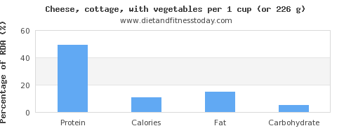 protein and nutritional content in cottage cheese
