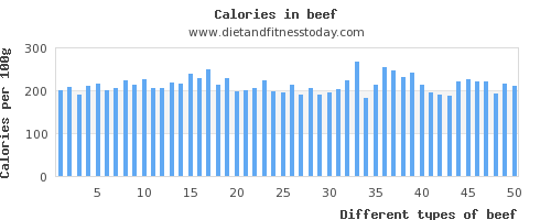 beef protein per 100g